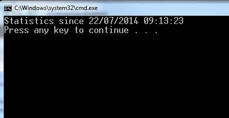 Uptime Batch File